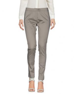 Повседневные брюки MAESTA. Цвет: серый