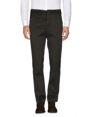 Повседневные брюки DONDUP. Цвет: темно-зеленый