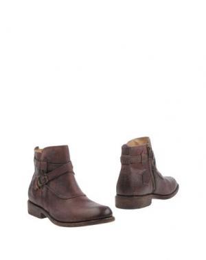 Полусапоги и высокие ботинки FRYE. Цвет: баклажанный
