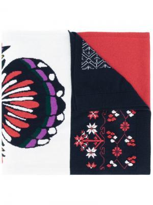 Кашемировый шарф Barrie. Цвет: многоцветный
