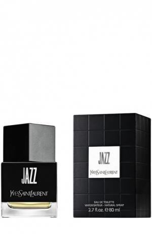 Туалетная вода Jazz YSL. Цвет: бесцветный
