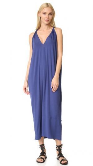 Длинное платье Hara Zero + Maria Cornejo. Цвет: шторм
