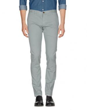 Повседневные брюки ALV ANDARE LONTANO VIAGGIANDO. Цвет: светло-серый