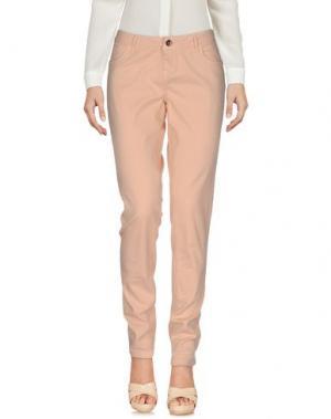 Повседневные брюки TIMEOUT. Цвет: телесный