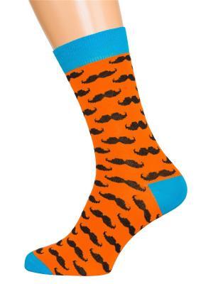 Носки Хох. Цвет: оранжевый