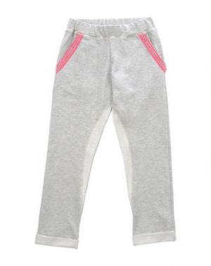 Повседневные брюки PAESAGGino. Цвет: светло-серый