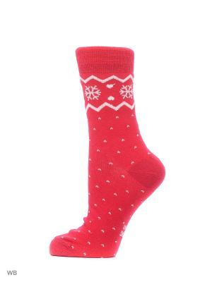 Носки, 2 пары Skiny. Цвет: розовый