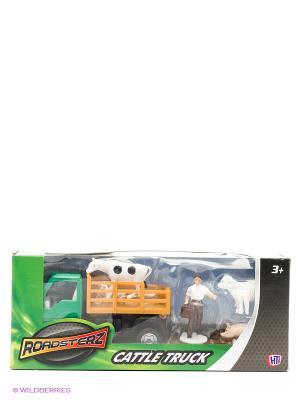 Фермерский набор для перевозки животных Зеленый HTI. Цвет: зеленый