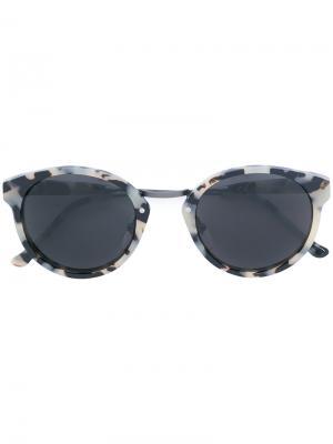 Солнцезащитные очки Panama Retrosuperfuture. Цвет: чёрный