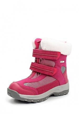 Ботинки Reima. Цвет: фуксия