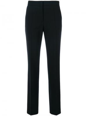 Классические брюки Tasche A Filo Alberta Ferretti. Цвет: чёрный
