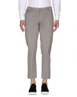 Повседневные брюки QUOTA OTTO. Цвет: серый