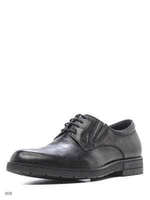 Ботинки Renaissance. Цвет: черный
