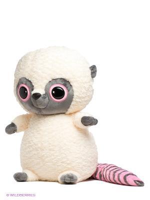 Мягкая игрушка Юху Aurora. Цвет: молочный, розовый, черный, серый