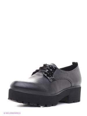 Туфли Roccol. Цвет: черный