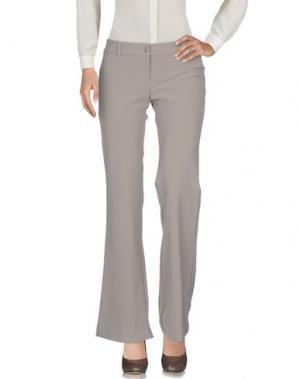 Повседневные брюки TRY ME. Цвет: хаки