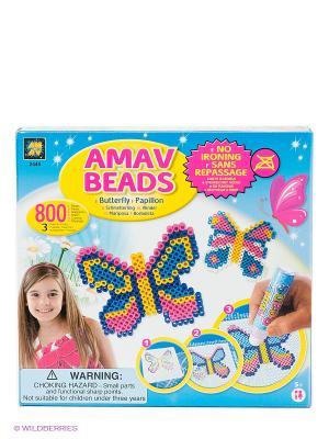 Игровой набор Бабочки AMAV. Цвет: синий, розовый, желтый