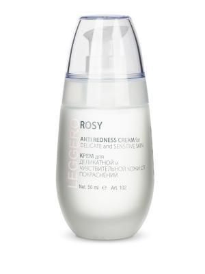 Leggero Rosy Крем для деликатной и чувствительной кожи от покраснений MontClinic. Цвет: белый