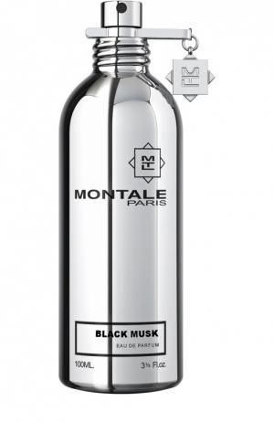 Парфюмерная вода Black Musk Montale. Цвет: бесцветный