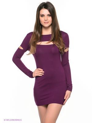 Платье Sport Vision. Цвет: фиолетовый