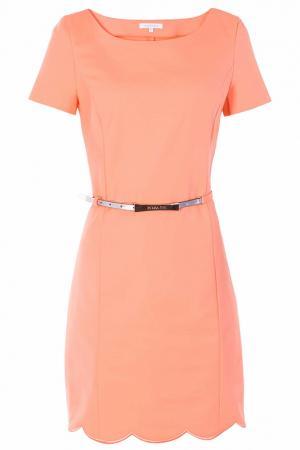 Платье Patrizia Pepe. Цвет: оранжевый