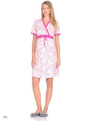 Ночная сорочка Nuova Vita. Цвет: фуксия, розовый