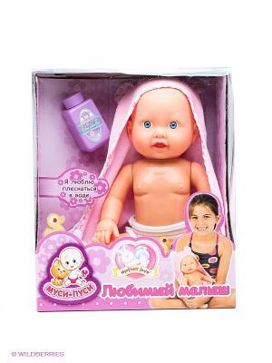 Функциональная кукла-пупс Муси-пуси. Цвет: бежевый, розовый