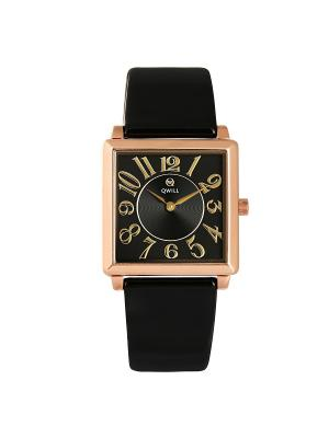 Часы ювелирные коллекция Q-Four QWILL. Цвет: черный