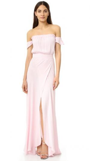 Макси-платье Bella Flynn Skye. Цвет: розовый кварц