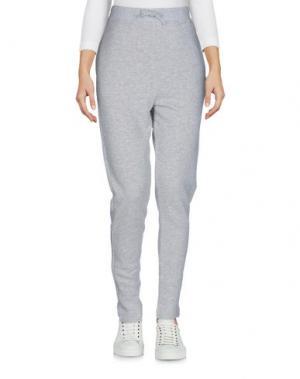 Повседневные брюки WOOLRICH. Цвет: светло-серый