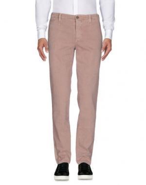 Повседневные брюки PIATTO. Цвет: ржаво-коричневый