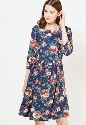 Платье Bestia. Цвет: синий