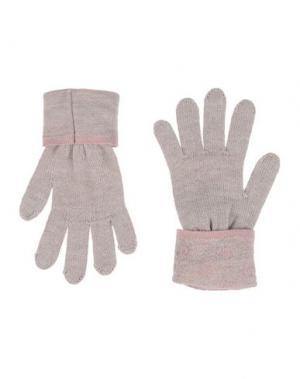 Перчатки GUESS. Цвет: бежевый