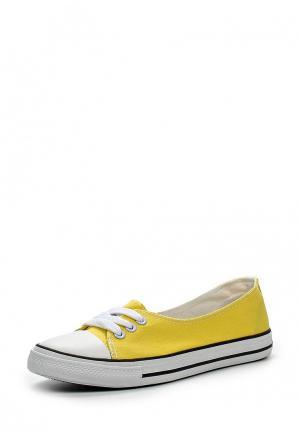 Кеды Dino Ricci Trend. Цвет: желтый