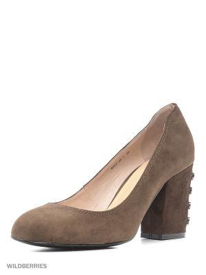 Туфли MARIE COLLET. Цвет: коричневый