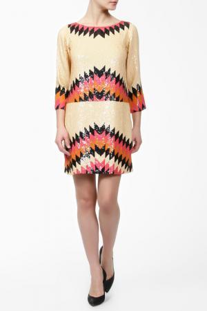 Платье G-Lish. Цвет: мультицвет