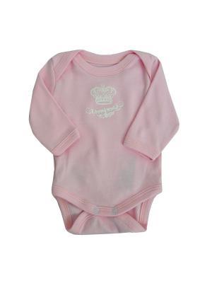Боди NICE-KID. Цвет: розовый
