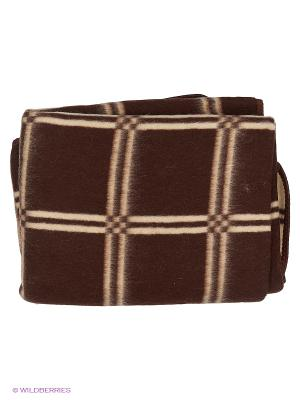 Одеяло Сукно. Цвет: антрацитовый, темно-коричневый, темно-красный