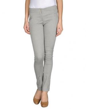 Повседневные брюки MAURO GASPERI. Цвет: светло-серый