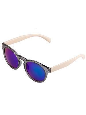 Солнцезащитные очки. Bijoux Land. Цвет: серый