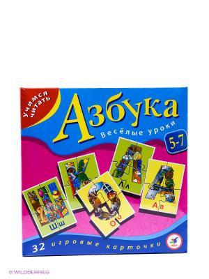 Настольная игра Азбука Дрофа-Медиа. Цвет: синий, фуксия