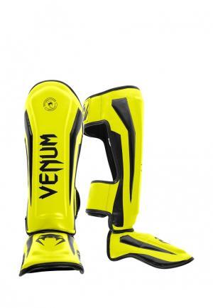 Комплект щитков 2 шт. Venum. Цвет: желтый