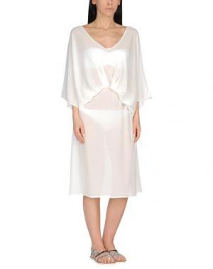 Пляжное платье CHRISTIES. Цвет: белый