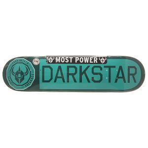 Дека для скейтборда  S6 Rhm Timeworks Aqua 31.2 x 7.75 (19.7 см) Darkstar. Цвет: голубой