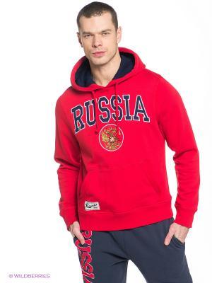 Худи Russia Atributika & Club. Цвет: красный