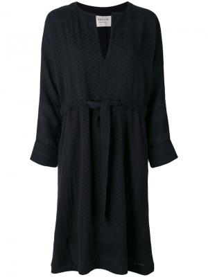 V-neck dress Cecilie Copenhagen. Цвет: чёрный