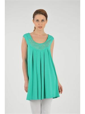 Туника M&L. Цвет: зеленый