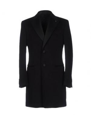 Пальто LUIGI BIANCHI Mantova. Цвет: черный