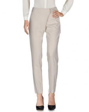 Повседневные брюки DAMIR DOMA. Цвет: светло-серый