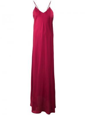 Длинное платье Mes Demoiselles. Цвет: красный